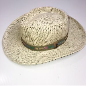 Scala Pro Series Straw Golf Hat Large / XL
